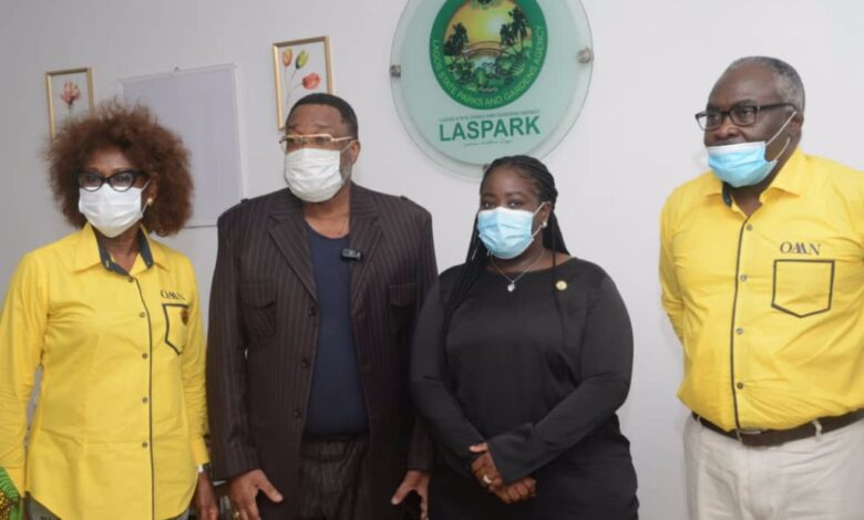 Photo of OAAN Shows Support To LASPARK
